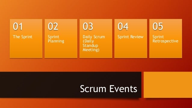 Scrum: The Sprint • Time-boxed to one month or less • DONE and potentially releasable product increment is created • Sprin...