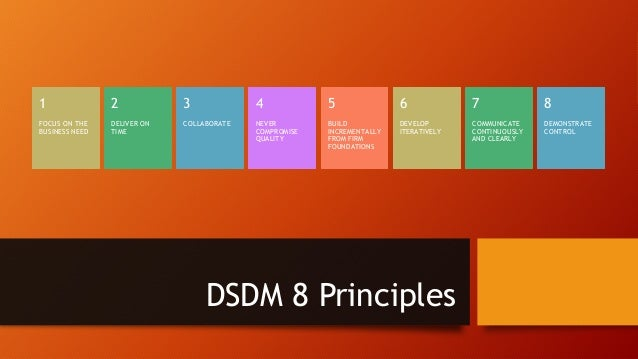DSDM MoSCoW prioritization Must Have – In order to meet requirements (Customer Demands, Legal Obligations, this is what th...