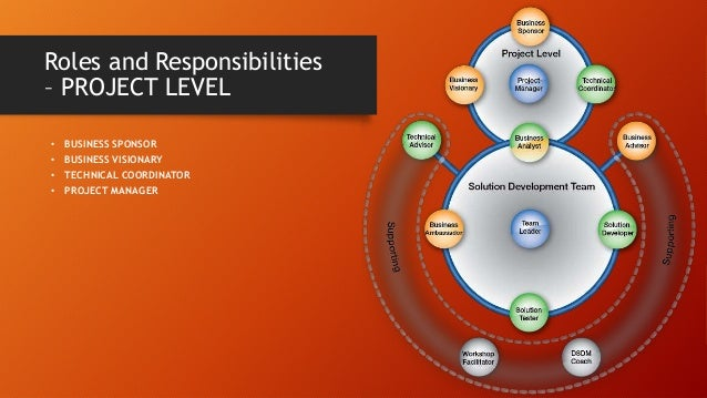 • BUSINESS AMBASSADOR • BUSINESS ANALYST • SOLUTION DEVELOPER • SOLUTION TESTER • TEAM LEADER Roles and Responsibilities –...