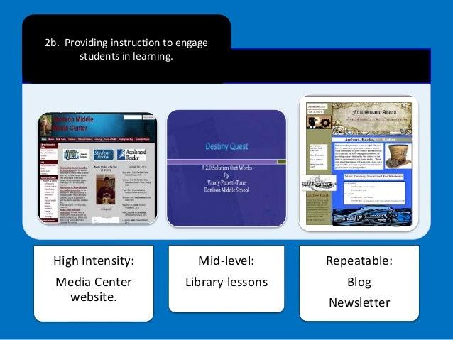 Preparing Evidence for Media Specialist Evaluation Slide 3