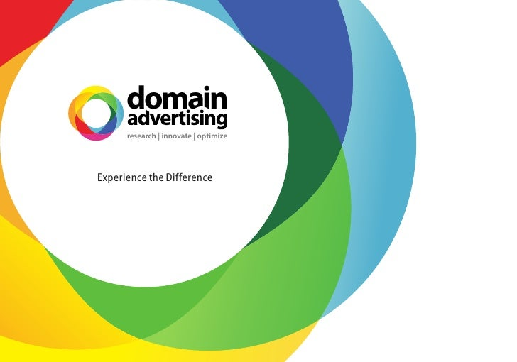 domain       research | innovate | optimize     Experience the Difference