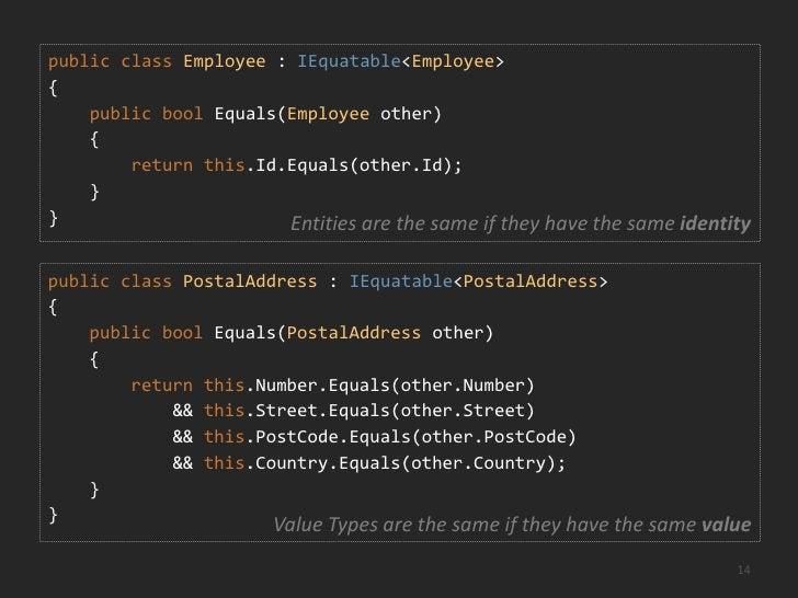 Value Types<br />