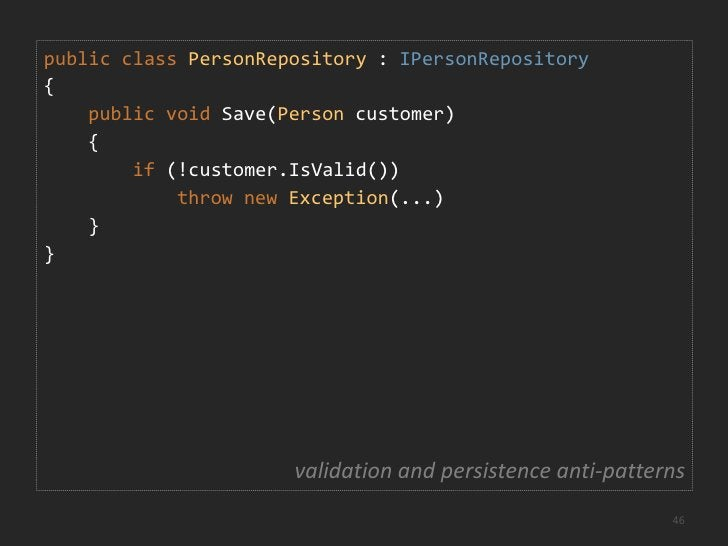 Validation Examples<br />Input validation<br />Is the first name filled in?<br />Is the e-mail address format valid?<br />...