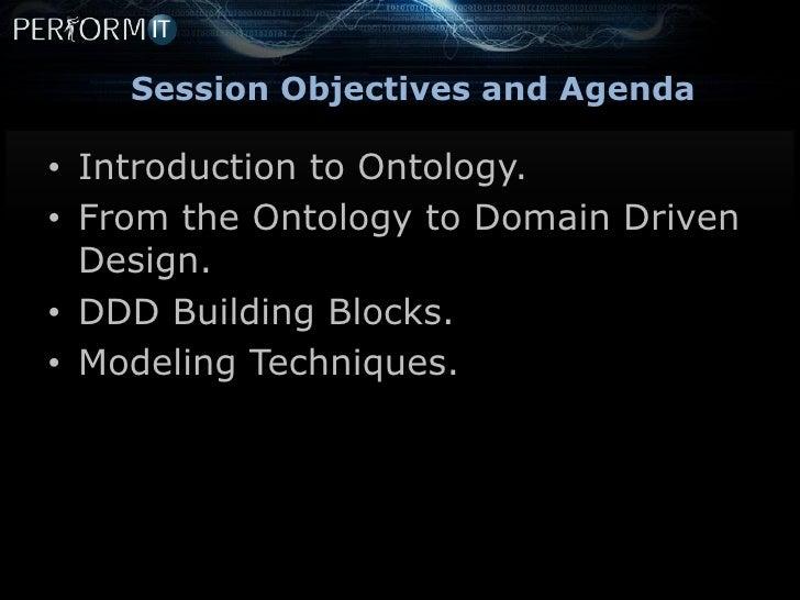 Domain driven design and model driven development Slide 3