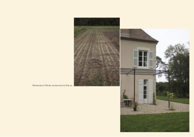 Domaine de Toury, fondation Le Delas.