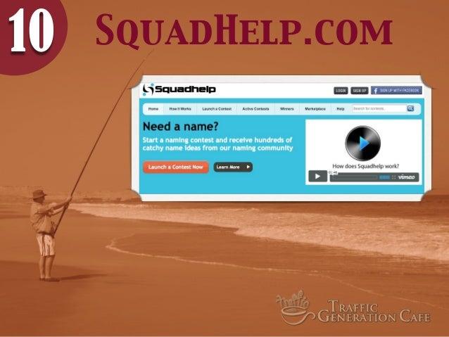 10  SquadHelp.com