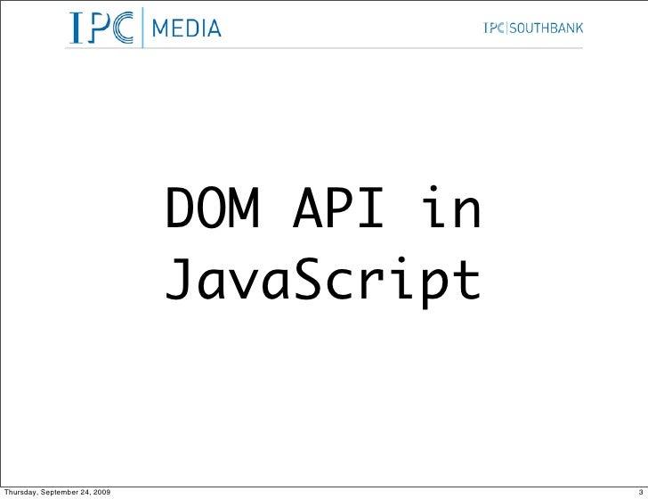 Dom Api In Java Script