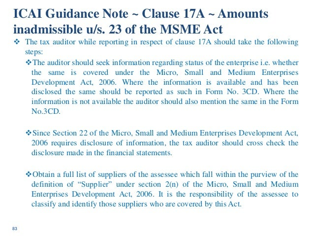 List of Guidance Notes on Accounting / Auditing Aspects issued by ICAI