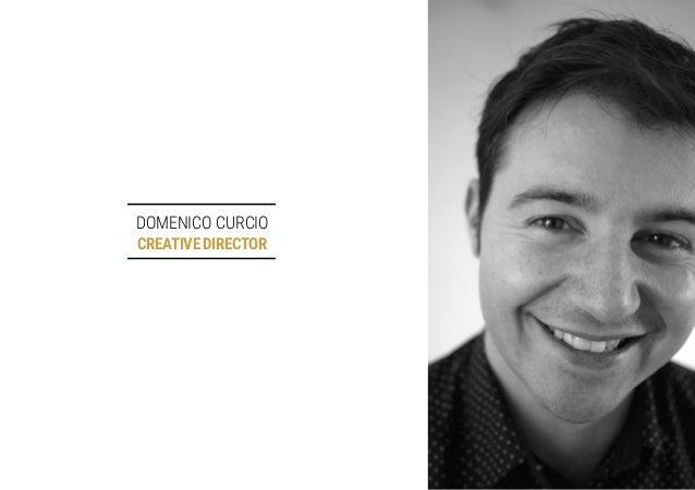 DOMENICO CURCIO CREATIVEDIRECTOR