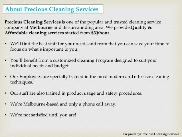 Domestic House Cleaning Services in Melbourne Offer by PCS Slide 2