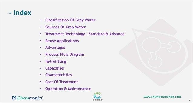 Grey water treatment & reuse Slide 2