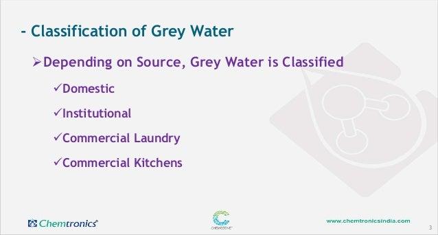 Grey water treatment & reuse Slide 3