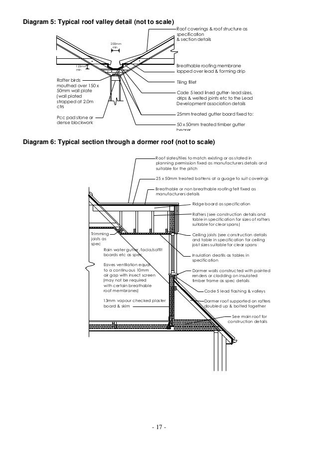 Building Control Guidance For Domestic Loft Conversion