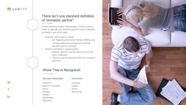 nj domestic partner opposite sex health insurance in Bolton