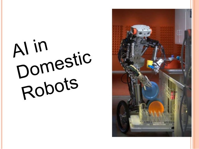 DOMESTIC ROBOT: A domestic robot is a robot used for household chores.( Housekeeping is the act of cleaning the rooms and ...