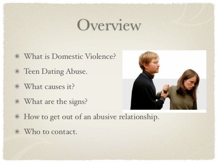 The Effects of Teenage Dating Violence Prevalence Effects and Intervention