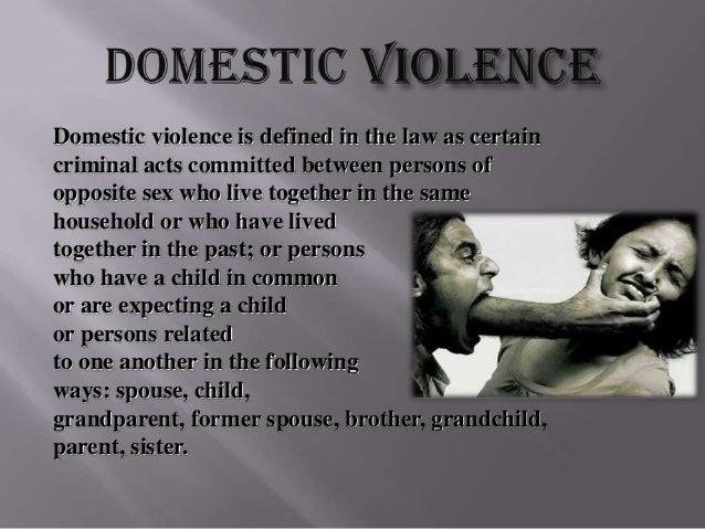 Abuse abuse domestic sex vs