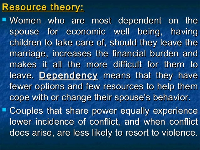 theories of domestic violence Constructionist theories of violence focus on discourse themes—shared meanings—that either justify violent acts or else redefine violence so that it is acceptable behavior three such discourse themes will be examined here.