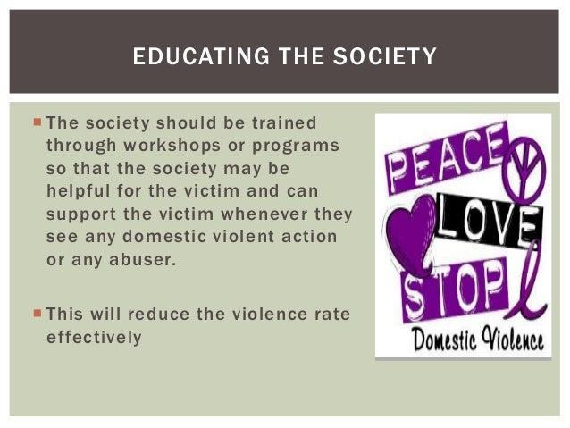 Altruism in society campaign domestic violence essay