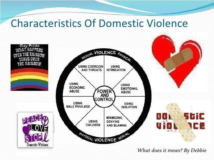 Domestic Violence Pp For Soc 610