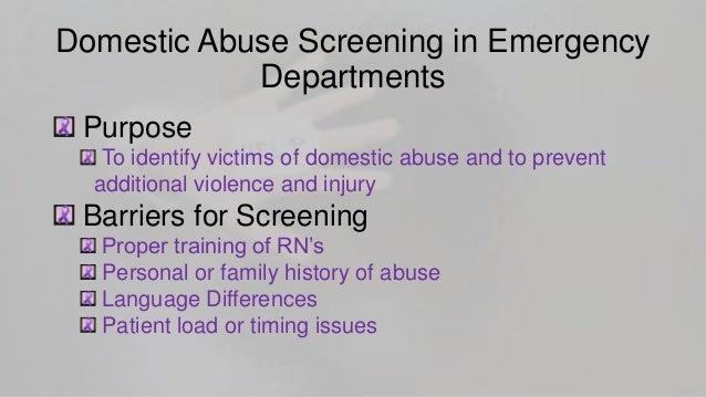Emergency Department Violence Fact Sheet
