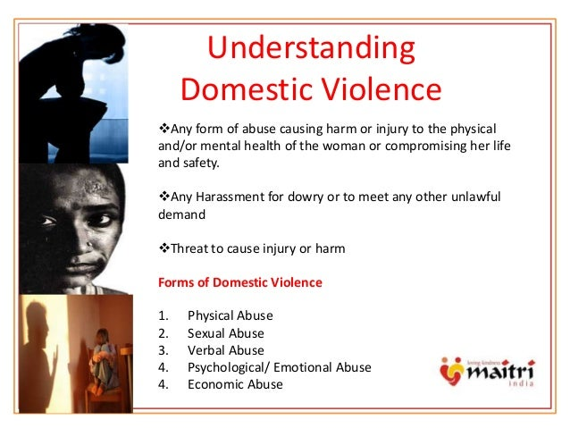 Term paper domestic violence