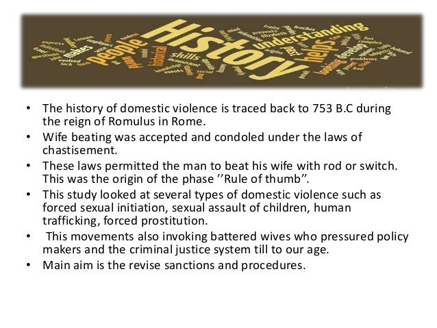 Preventing domestic violence essays