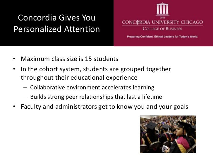 A Concordia University Chicago MBA - Online or On Campus