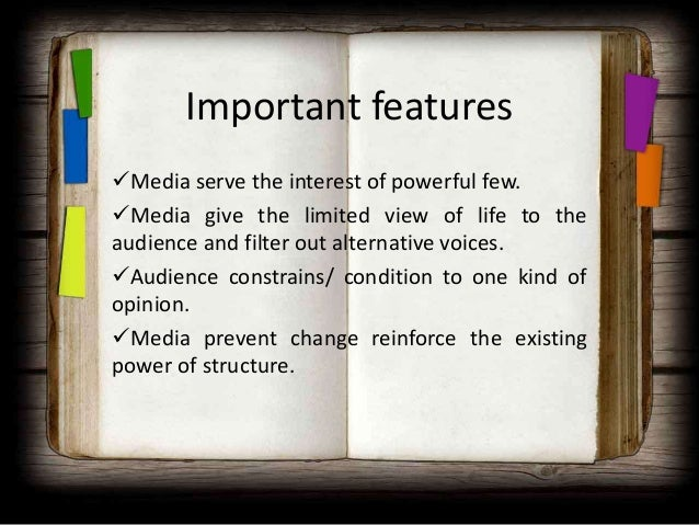 changes to the concept of mass audience Mass media means technology that is intended to reach a mass audience it is  the primary means of communication used to reach the vast.