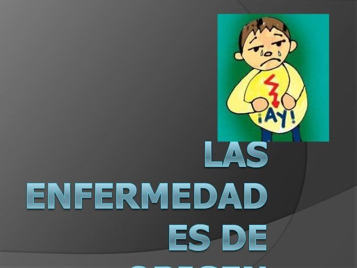Las enfermedades de origen alimentario<br />Domingo Martínez Rodenas<br />