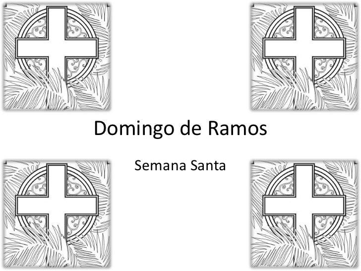 Domingo de Ramos<br />Semana Santa<br />