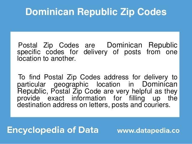 Good dominican republic zip codes postal with code postal - Port de bouc code postal ...