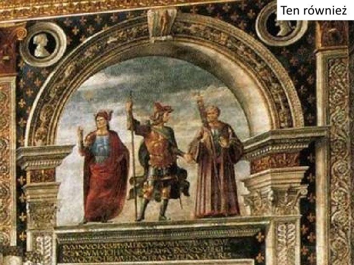 Uznany jako malarz  W 1481 papież Sykstus IV wezwał go do Rzymu. Dominikowi zostało zlecone namalowanie fresku w Kaplicy S...