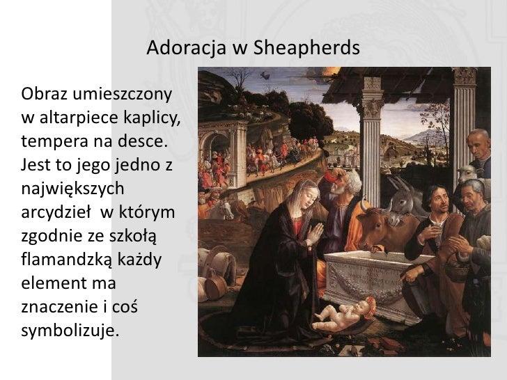 """""""W ostatnim obrazie zgon świętego i opłakiwanie go przez braci zakonnych. Widzi sięŚmierd św. Franciszka rękę zmarłego.   ..."""