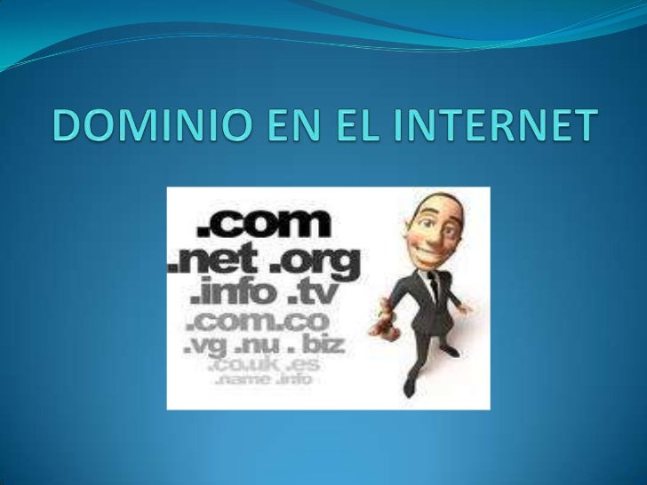 DOMINIO EN EL INTERNET<br />