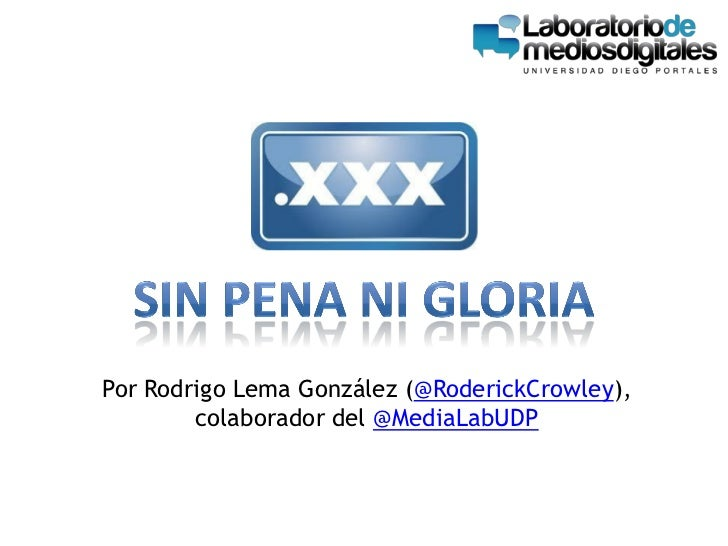 Por Rodrigo Lema González (@RoderickCrowley),        colaborador del @MediaLabUDP