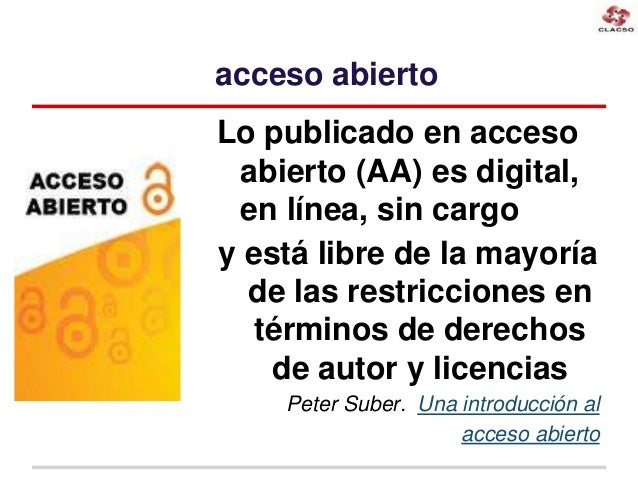 Cooperación regional para comunicaciones científicas y académicas en acceso abierto Slide 2