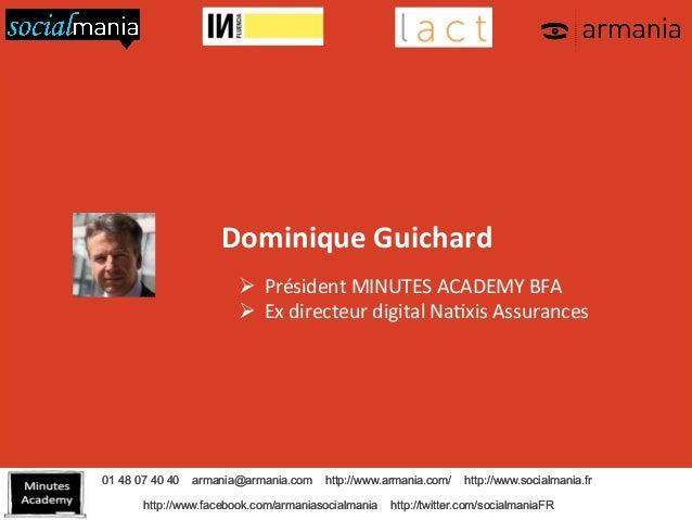 Évangéliser le digital dans l'entreprise par Dominique GUICHARD Slide 2