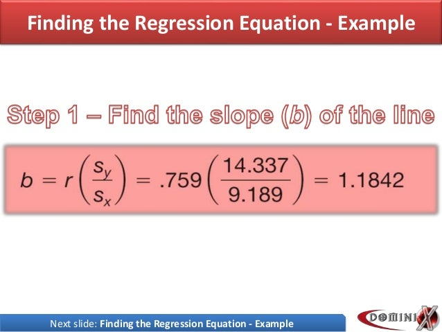 Presentation on regression statistics finding the regression ccuart Choice Image
