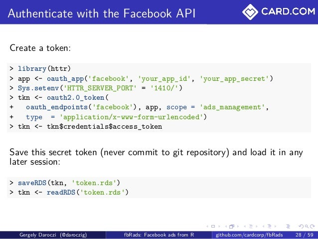 Optimizing Facebook Campaigns with R