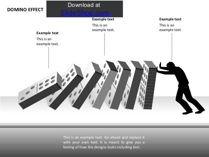 Antigones domino effect
