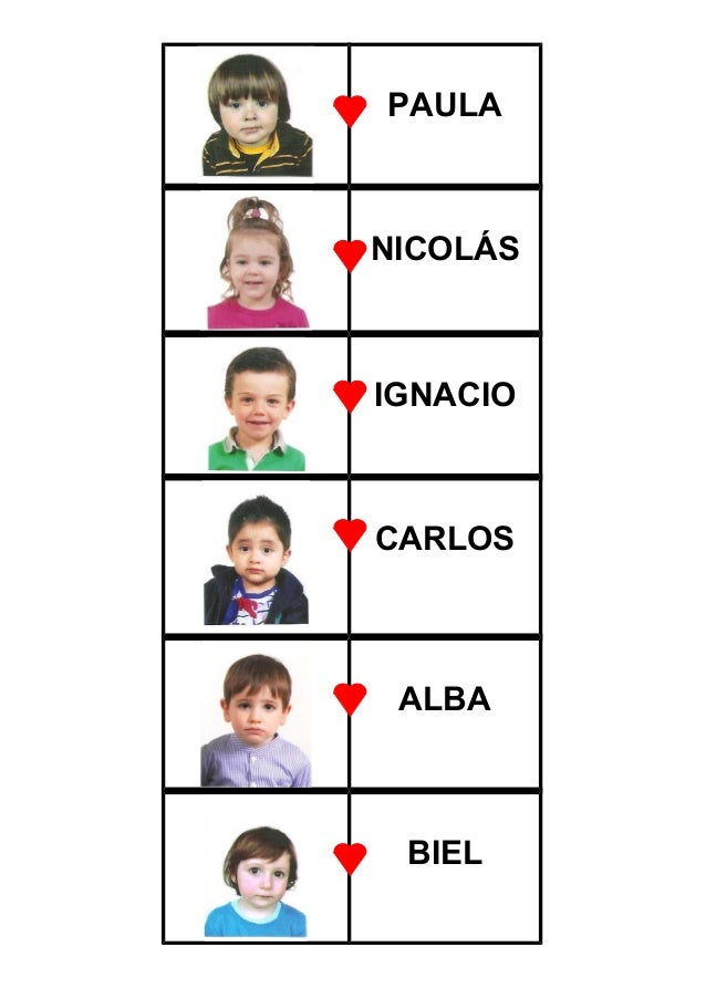 PAULA NICOLÁS IGNACIO CARLOS ALBA BIEL