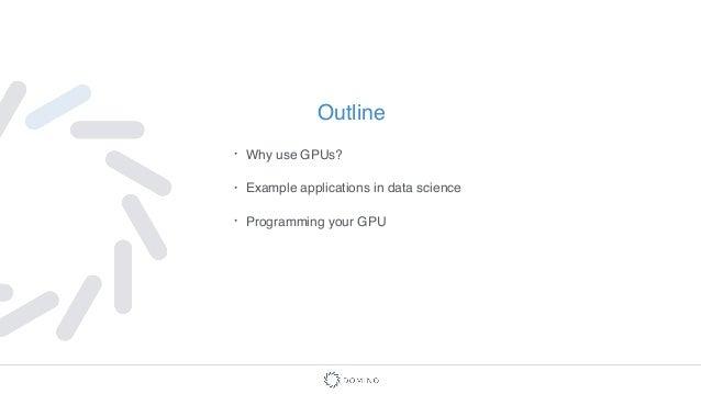 GPU Computing for Data Science  Slide 2