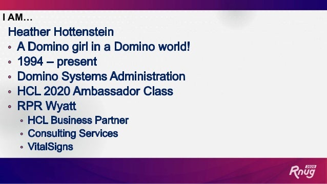 The Life of a Domino and Office 365 Administrator Slide 2
