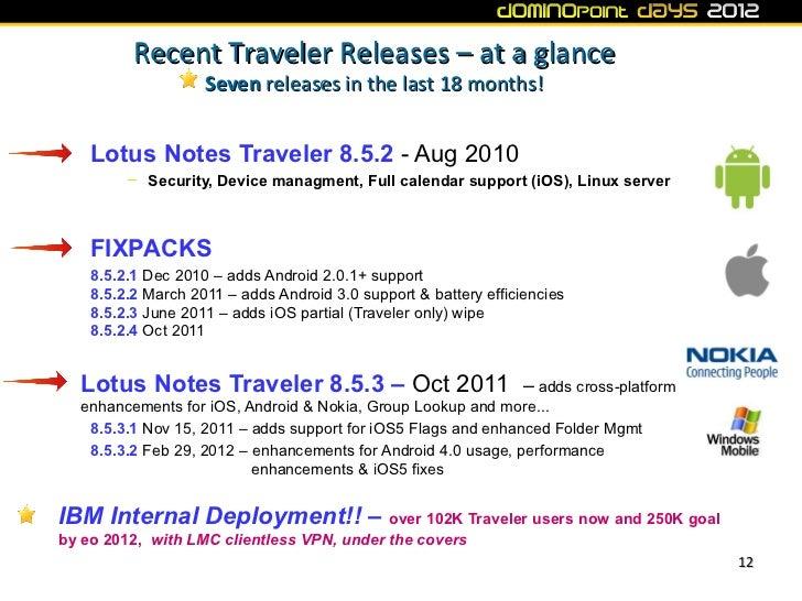Dd12 Ibm Lotus Notes Traveler And Lotus Mobile Connect