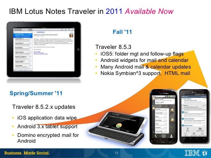lotus notes traveler 8.5.035
