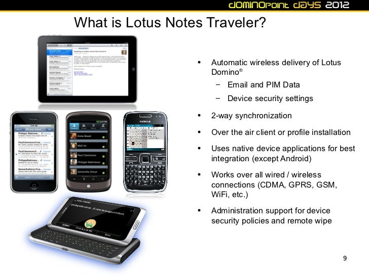 Dd12 Ibm Lotus Notes Traveler And Lotus Mobile Connect