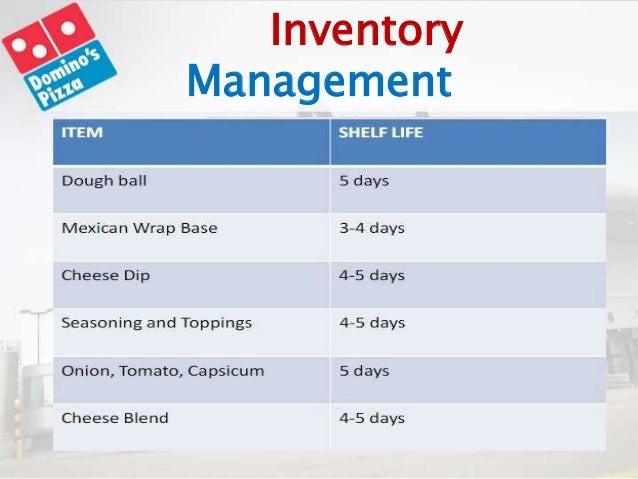 Domino S Pizza Supply Chain Management