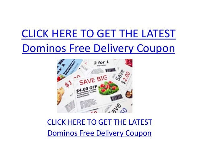 More About Dominos Pizza Coupons