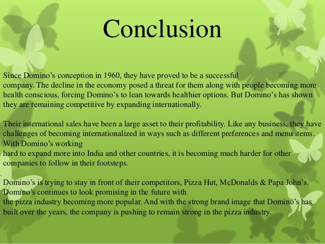 mcdonalds conclusion Conclusion mcdonalds financial statements with a project growth in sales of 10 from bus 401 at ashford university.